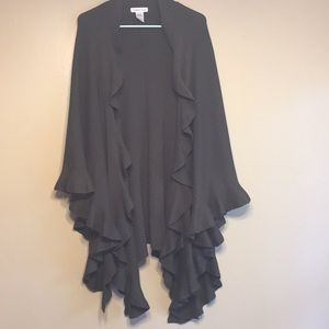 Coldwater Creek Poncho One Size Fits All